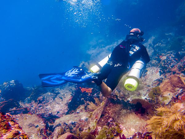 PADI Recreational Sidemount Diver Carriacou Grenada
