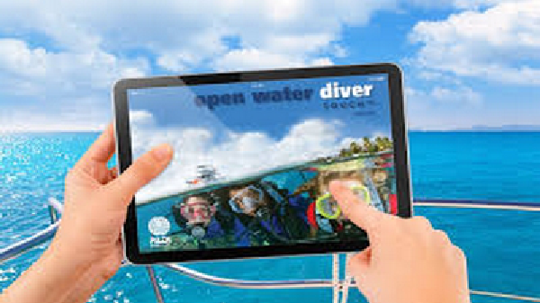 PADI eLearning courses Carriacou Grenada